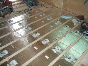施工写真 根太組み床用 ルナキット1