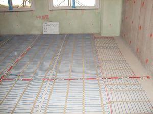 施工写真 コンクリート蓄熱式2
